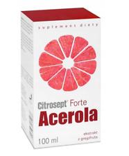 Citrosept FORTE Acerola Vitamin C Extract 100 ml FREE P&P