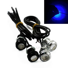 LED Eagle Eye Lamp Car Reverse Daytime Running Light back up Blue Light 18MM