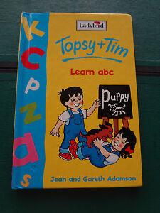 Ladybird book. Topsy + Tim - Learn abc