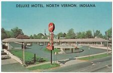 North Vernon, Indiana, Early View of The Deluxe Motel