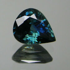 0.73 ct Natural AFRICA BLUE Sapphire PEAR 1 Piece Loose Stone