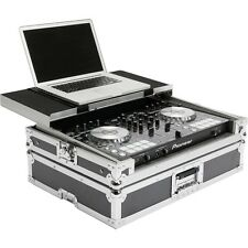Magma DJ Controller Workstation Flightcase for Pioneer DDJ-SR w/ Laptop Shelf
