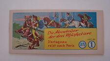 Abenteuer der drei Musketiere (Mohr, picc.) Nr. 1-3 kpl. (Z1)