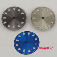3 Models 28.5mm Date Window Watch Dial fit 3804 MIYOTA 8215 8205 movement