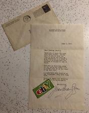 JOAN CRAWFORD MOVIE STAR SIGNED VINTAGE 1941 TLS AUTOGRAPH LETTER With ENVELOPE