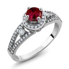 Ruby Sterling Silver Unisex Jewellery