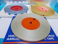 Angebot 3X 250m Vorlaufband 250m Blau/Weiß,250m Weiß,250m Gelb für Revox usw NOS
