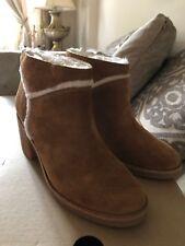 UGG Women's Kasen Chestnut Brown Suede Boots 1018644 Size 6,5