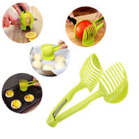 Home Kitchen Hand-held Lemon Onion Tomato Fruit Slicer Chopper Cutter Food Clips