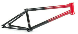 "SUBROSA MR1 BMX BIKE BICYCLE FRAME 21"" tt MATT RAY / JIRI RED BLACK FADE NEW"