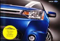 2010 Ford Focus 24-page Original Car Sales Brochure Catalog