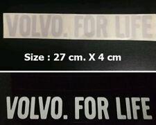 Lowered WAGON MAFIA sticker for Volvo V70 3rd Gen 2007+WM019