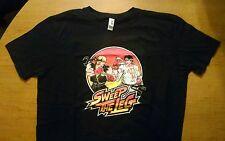 Street Fighter Karate Kid mash-up T-shirt Sweep The Leg Daniel vs Johnny