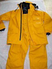 G & B Pennel Offshore Ocean Insulated FOUL Weather Gear Jacket & Bib ~ France