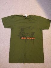 Strike Anywhere T-shirt (Green) - Rare - Size Small - Punk Rock