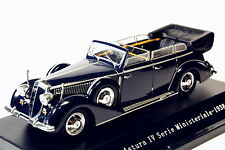 1:43 Starline Lancia Astura Ministeriale IV Serie 1938 AZUL
