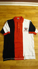NEW AMF Bowler Of The Week Embroidered Polo Bowling Ball Shirt Adult Sz S Small
