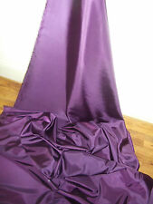 """1M FUSCIA PURPLE DRESS COLOURED  TAFFETA  FABRIC 58"""" WIDE"""