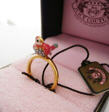 Auth Juicy Couture Parrot Mini Wish Ring $48