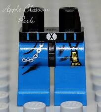 NEW Lego Minifig BLUE LEGS w/Flashlight Pattern - Boy/Girl Minifigure Body Lower