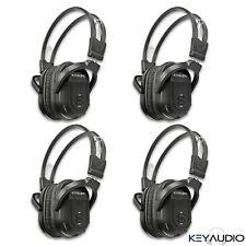 4 Wireless Folding IR DVD Video Headphone Headset Fits 2002-2018 Honda Pilot
