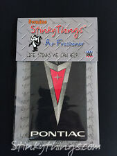 PONTIAC CAR AIR FRESHENER * VANILLA SCENT * GTO G6 G8 rat rod trans am shirt