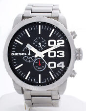 Diesel Men's Double Down Silver Analog Display Quartz Watch DZ4209