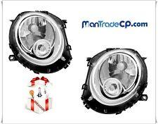 COPPIA FANALE FARO ANTERIORE DX/SX FANALINO BIANCO MINI COOPER R56 07/2006->