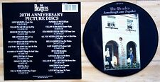 "EX! THE BEATLES SOMETHING COME TOGETHER 20TH ANNIVERSARY 7"" Vinyl Picture Disc"