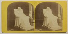 Paris Expo universelle 1867 Napoléon Statue France Photo Stereo Vintage Albumine