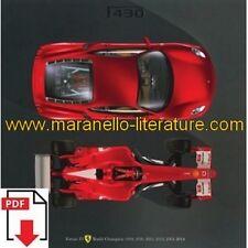 Brochure 2004 Ferrari F430 2125/04 PDF (it/uk)