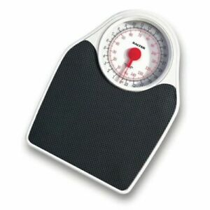 4772 Salter Doctor's Style Mechanical Bathroom Scale - Black & White