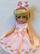 "YOUR CHOICE HP Roses Doll Dress For Ann Estelle Patsy  10"" Tonner YoYoCottage"