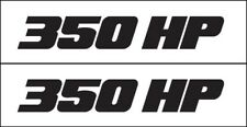 MG 2358 350 HPFit Chevy Pontiac Buick Oldmobile Engine Decal Metro Auto Graphics