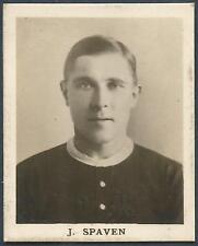 FOOTBALL CARD-CIRCA 1920'S-NOTTINGHAM FOREST-JACK SPAVEN