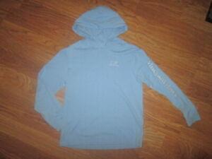 Boys VINEYARD VINES athletic hooded tee t shirt sz 7