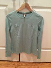 Ibex women's Shirt, Light Blue, Base Layer Small