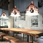 rétro lampe suspendue intérieur Plafonniers Coup de marteau Spot rose-or
