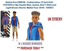 Barbie Ken DWK46 - Fashionistas 12 Inch Doll - STEVEN - RARE!!