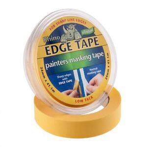 Ultratape EDGE TAPE Painters Clean Line Paint Blocker Masking 24 & 36mm 6,12,24