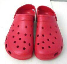 Mens Summer Slippers Nursing Clogs Beach Sandals Garden Shoes Outdoor Red XL