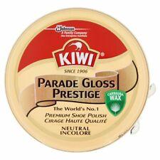Kiwi Premium Parade Gloss Prestige Neutral Shoe Polish Cream Leather Boot Care