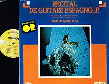 Carlos Montoya RECITAL DE GUITARE ESPAGNOLE LP Musidisc FRANCE 30CO901 @N/M-Excl