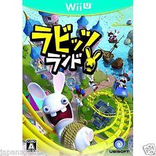 Rabbits Land Ubisoft Nintendo Wii U Japanese Japanzon