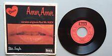 Ref776 Vinilo 45 Tours Amor Amor Rod Mc Kuen