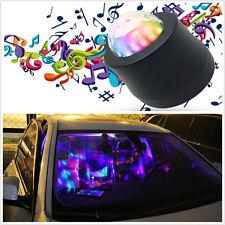 USB Auto Car Disco DJ Stage Lighting LED RGB Rotation Ball Lamp Light DJ Party