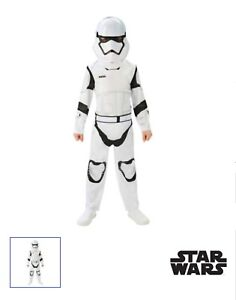 Star Wars Classic Stormtrooper Costume Kids 6-8 Years Old