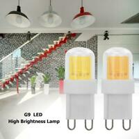 Dimmable G9 LED Lamp 1511 COB 5W High Brightness Light Bulb Home Lighting JF#E
