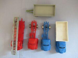 Konvolut : LEGO Autos - LKW - Feuerwehr - usw... - 1/87 - Modellauto - Vintage