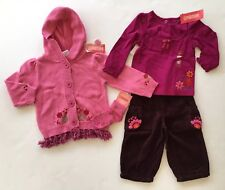 NWT Gymboree Peruvian Doll 18-24 Pink Tassel Sweater Flower Top Pants & Socks